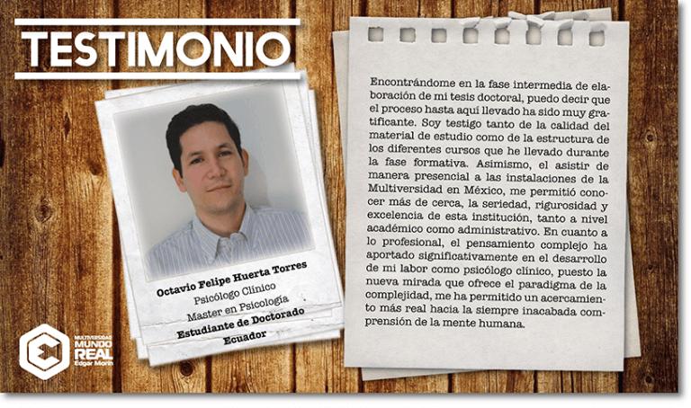 Octavio Felipe Huerta Torres