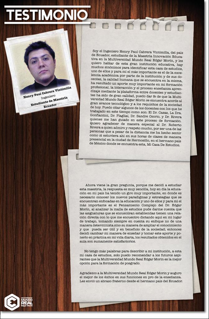 Henry Paul Cabrera Vintimilla